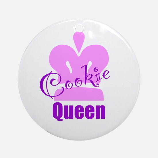 Cookie Queen Ornament (Round)