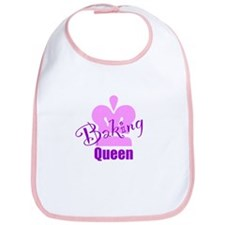 Baking Queen Bib