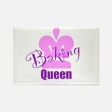 Baking Queen Rectangle Magnet