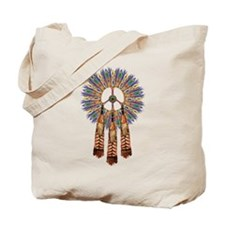 First People Peace Tote Bag