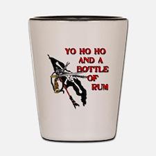 Yo Ho Ho Pirate Shot Glass