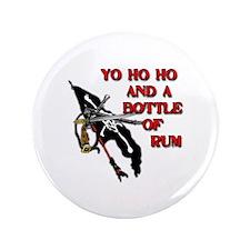 """Yo Ho Ho Pirate 3.5"""" Button (100 pack)"""