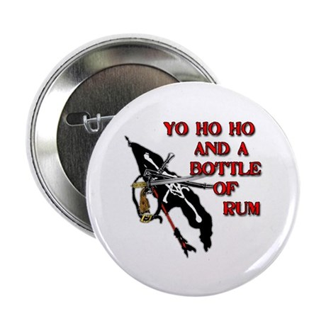 """Yo Ho Ho Pirate 2.25"""" Button"""