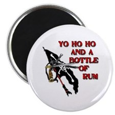 "Yo Ho Ho Pirate 2.25"" Magnet (100 pack)"