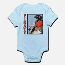 Colorful Pirate Art Infant Bodysuit