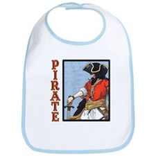 Colorful Pirate Art Bib