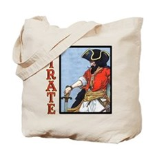 Colorful Pirate Art Tote Bag