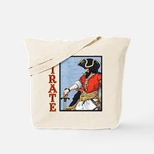 Colorful Pirate Art Tote Bag