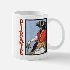 Colorful Pirate Art Mug