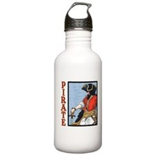 Colorful Pirate Art Water Bottle