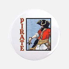 """Colorful Pirate Art 3.5"""" Button"""
