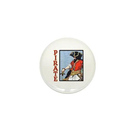 Colorful Pirate Art Mini Button (100 pack)