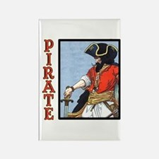 Colorful Pirate Art Rectangle Magnet