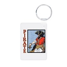 Colorful Pirate Art Keychains