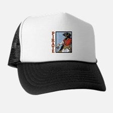 Colorful Pirate Art Trucker Hat