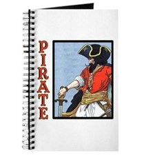 Colorful Pirate Art Journal