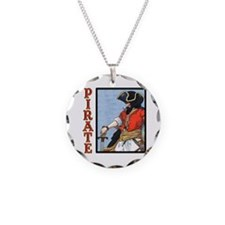 Colorful Pirate Art Necklace