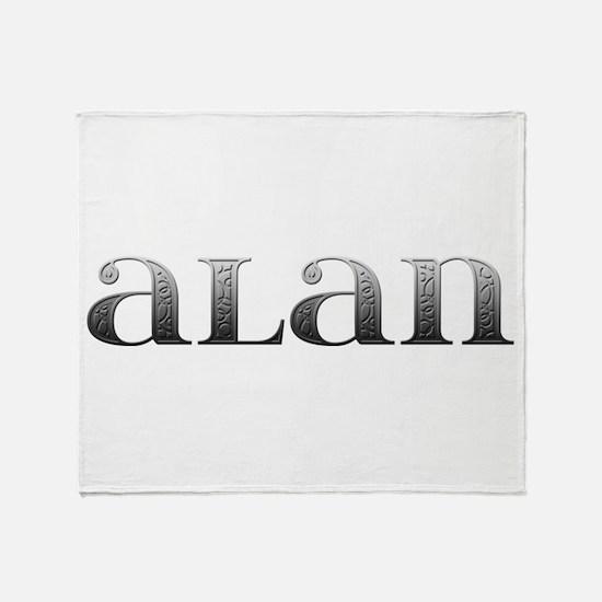 Alan Carved Metal Throw Blanket
