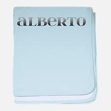 Alberto Carved Metal baby blanket