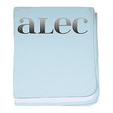 Alec Carved Metal baby blanket