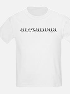 Alexandra Carved Metal T-Shirt