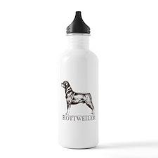 Rottweiler Breed Type Water Bottle