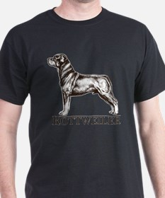 Rottweiler Breed Type T-Shirt