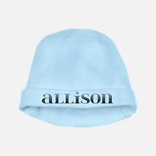 Allison Carved Metal baby hat