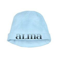 Alma Carved Metal baby hat