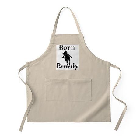 Ladies Born Rowdy Apron