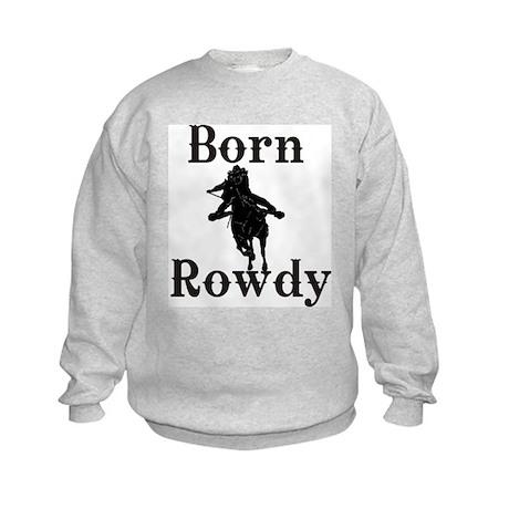 Ladies Born Rowdy Kids Sweatshirt