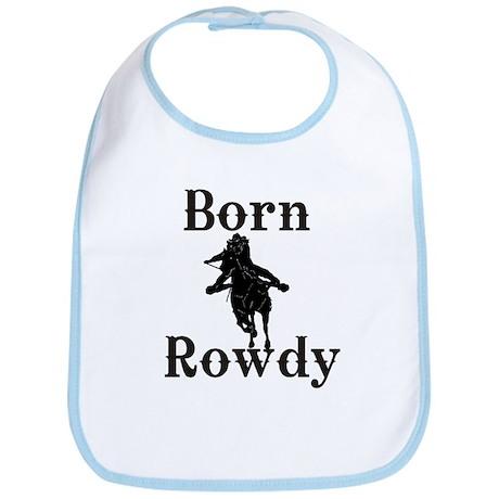 Ladies Born Rowdy Bib