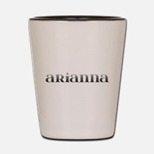 Arianna Carved Metal Shot Glass