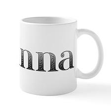 Arianna Carved Metal Mug