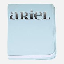 Ariel Carved Metal baby blanket