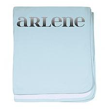 Arlene Carved Metal baby blanket