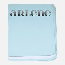 Arlene Carved Metal baby blanket