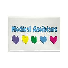 Medical Assistant Rectangle Magnet