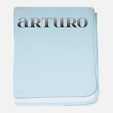 Arturo Carved Metal baby blanket
