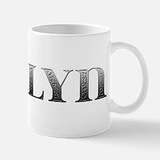 Ashlyn Carved Metal Mug