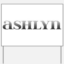 Ashlyn Carved Metal Yard Sign