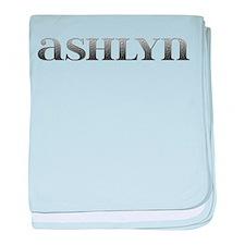 Ashlyn Carved Metal baby blanket
