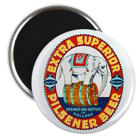 """Holland Beer Label 1 2.25"""" Magnet (100 pack)"""