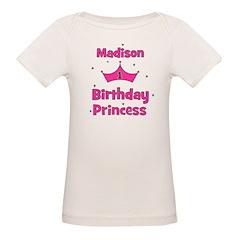 1st Birthday Princess Madison Tee