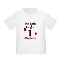 This Little Lady is 1 - MADISON T
