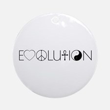 Evolution Values Ornament (Round)