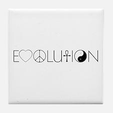 Evolution Values Tile Coaster
