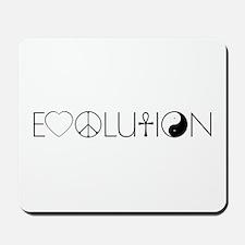 Evolution Values Mousepad