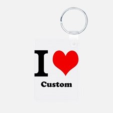 Custom Love Keychains