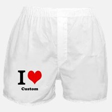 Custom Love Boxer Shorts